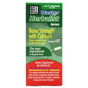 Picture of Bell Lifestyle Bone Strength with Calcium (#37)  1152mg 60 Capsules