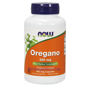 Picture of Now Foods Oregano 450mg 100 Capsules