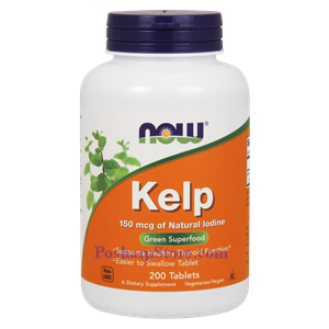 Picture of Now Foods Kelp 150 mcg 200 Tablets