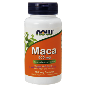 Picture of Now Foods Maca 500 mg 100 Veg Capsules