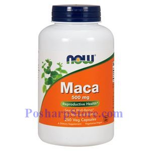 Picture of Now Foods Maca 500 mg 250 Veg Capsules