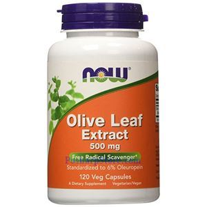 Picture of Now Foods Olive Leaf Extract 500 mg 120 Veg Capsules
