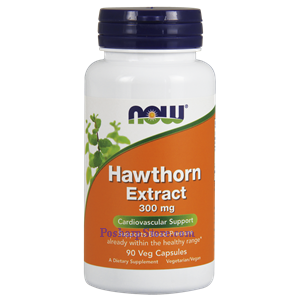 Picture of Now Foods Hawthorn Extract 300 mg 90 Veg Capsules