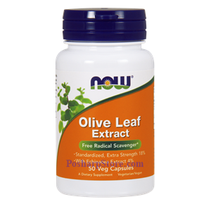 Picture of Now Foods Olive Leaf Extract 50 Veg Capsules