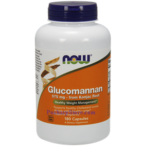 Picture of Now Foods Glucomannan 575 mg 180 Capsules