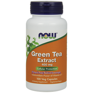 Picture of Now Foods Green Tea Extract 400 mg 100 Veg Capsules