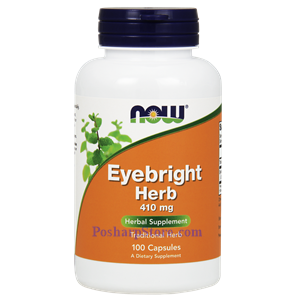 Picture of Now Foods Eyebright Herb 410 mg 100 Veg Capsules