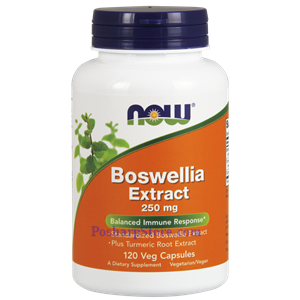 Picture of Now Foods Boswellia Extract 250 mg 120 Veg Capsules