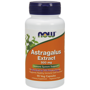 Picture of Now Foods Astragalus Extract 500 mg 90 Capsules
