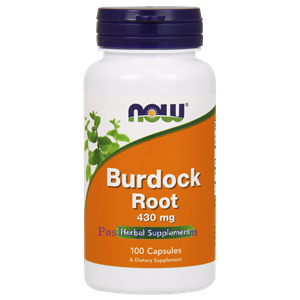 Picture of Now Foods Burdock Root 430 mg 100 Capsules