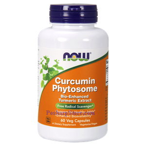 Picture of Now Foods Curcumin Phytosome 60 Veg Capsules