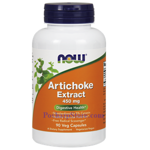 Picture of Now Foods Artichoke Extract 450 mg 90 Capsules