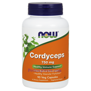 Picture of Now Foods Cordyceps 750 mg 90 Veg Capsules