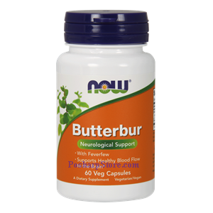 Picture of Now Foods Butterbur 60 Veg Capsules