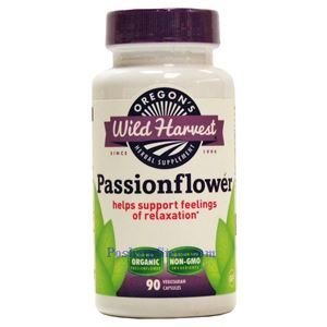 Picture of Oregon's Wild Harvest Passionflower 90 Veg Capsules