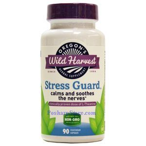 Picture of Oregon's Wild Harvest Stress Guard 90 Veg Capsules