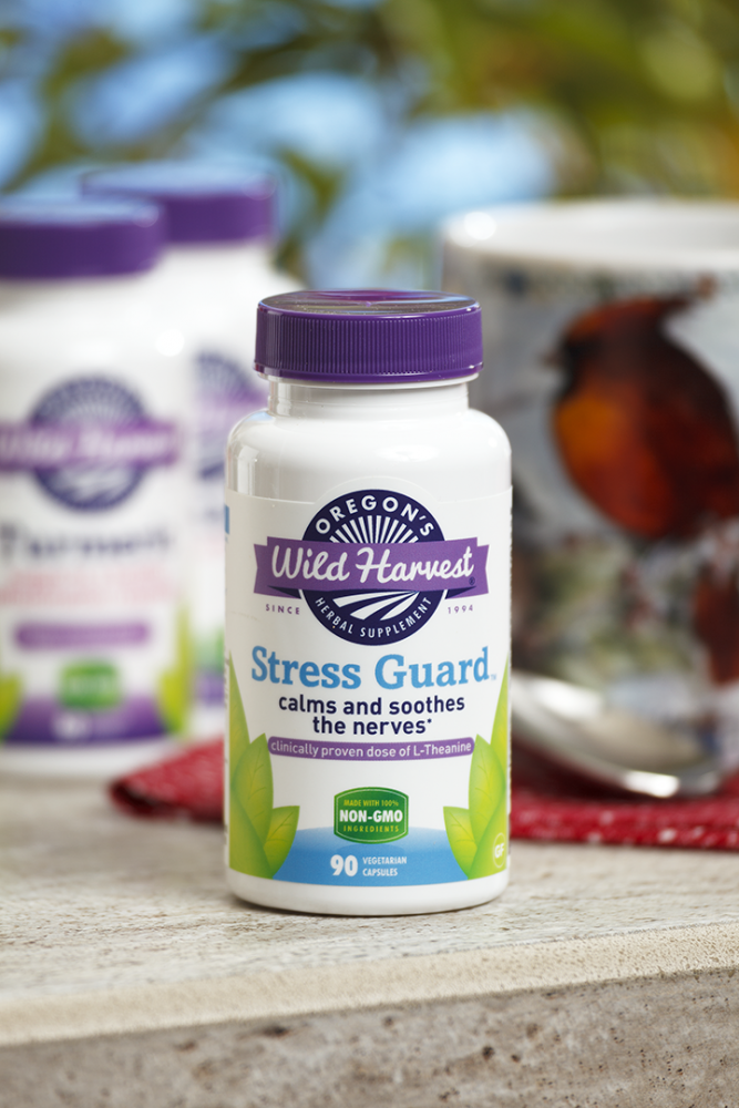 Picture for category Oregon's Wild Harvest Stress Guard 90 Veg Capsules
