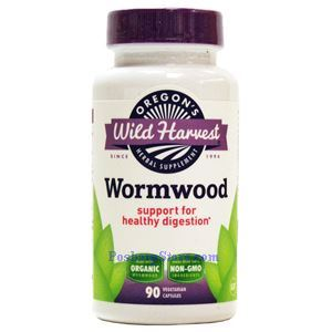 Picture of Oregon's Wild Harvest Wormwood 90 Veg Capsules