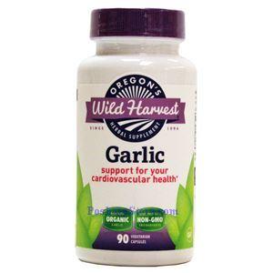 Picture of Oregon's Wild Harvest Garlic 90 Veg Capsules