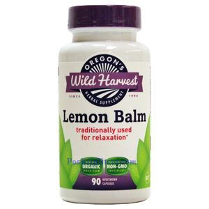 Picture of Oregon's Wild Harvest Lemon Balm 90 Veg Capsules