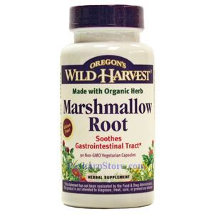 Picture of Oregon's Wild Harvest Marshmallow Root 90 Veg Capsules
