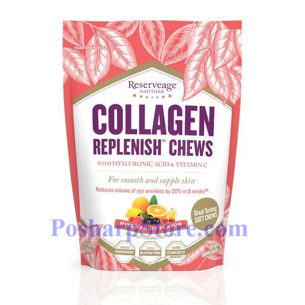 Picture for category Reserveage Collagen Replenish with Hyaluronic Acid & Vitamin C 60 Soft Chews