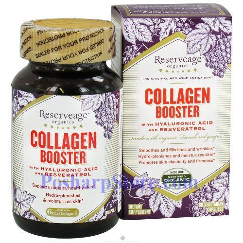 Picture for category ReserveAge Collagen Booster with Hyaluronic Acid and Resveratrol 60 Capsules