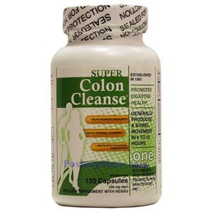 Picture of Health Plus Super Colon Cleanse 120 Capsules