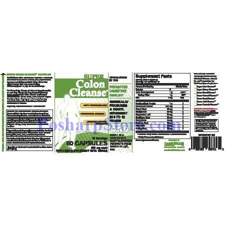 Picture for category Health Plus Super Colon Cleanse 60 Capsules