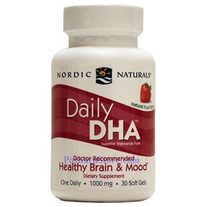 Picture of Nordic Naturals Daily DHA Strawberry Flavor 30 Softgels