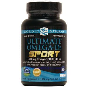 Picture of Nordic Naturals Ultimate Omega-D3 Sport 60 Softgels