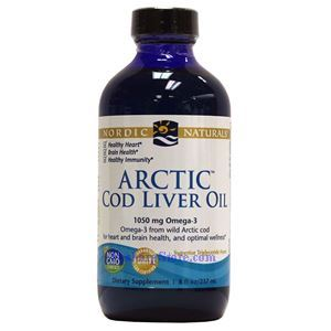 Picture of Nordic Naturals Arctic Cod Liver Oil Unflavored 8 Fl Oz