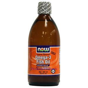 Picture of Now Foods Omega-3 Fish Oil Liquid Lemon Flavor 16.7 Fl Oz