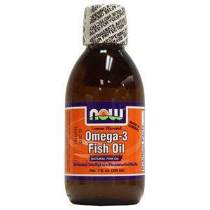 图片 Now Foods牌Omega-3那威深海鱼油 柠檬味 200毫升