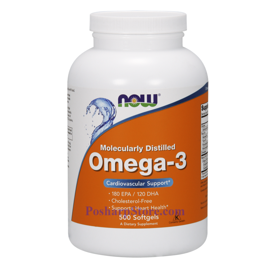 Picture for category Now Foods Omega-3 500 Softgels