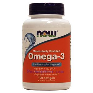 Picture of Now Foods Omega-3 100 Softgels