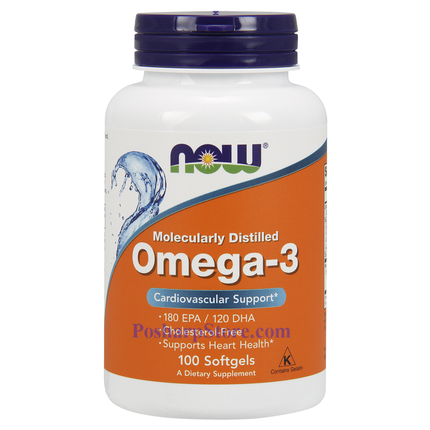 Picture for category Now Foods Omega-3 100 Softgels