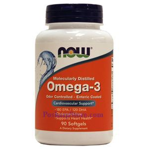 Picture of Now Foods Omega-3 90 Softgels