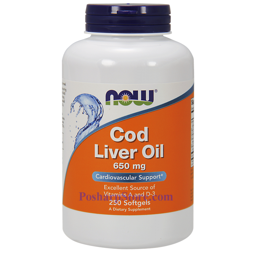 Picture for category Now Foods Cod Liver Oil 250 Softgels