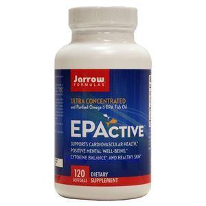 图片 Jarrow Formulas牌EPActive 高浓度高纯度Omega-3鱼油软胶囊 120粒