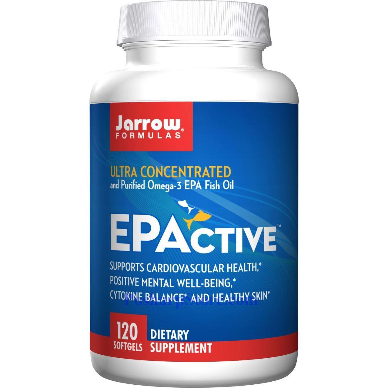 分类图片 Jarrow Formulas牌EPActive 高浓度高纯度Omega-3鱼油软胶囊 120粒