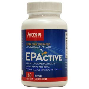 Picture of Jarrow Formulas EPActive Ultra Concentrated and Purified Omega-3 EPA Fish Oil 60 Softgels