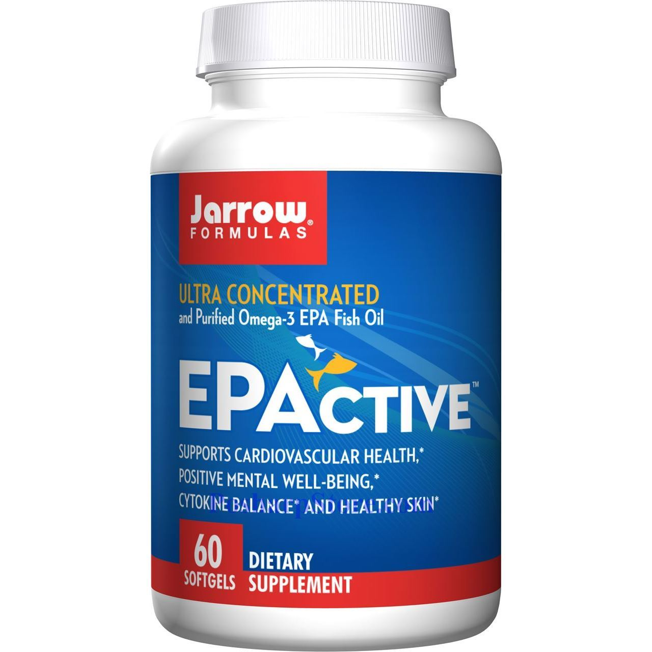 Picture for category Jarrow Formulas EPActive Ultra Concentrated and Purified Omega-3 EPA Fish Oil 60 Softgels