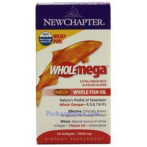 图片 New Chapter新章牌全谱Omega100%阿拉斯加深海三文鱼油软胶囊 30粒