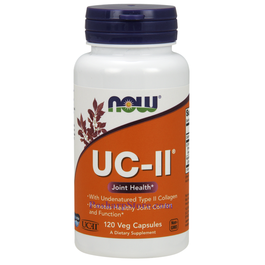 Picture for category Now Foods UC-II® Type II Collagen 120 Veg Capsules