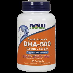 图片 Now Foods牌浓缩型DHA-500鱼油软胶囊 1000毫克 90粒