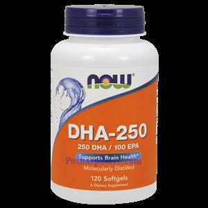 图片 Now Foods牌浓缩型DHA-250鱼油软胶囊 1250毫克 120粒