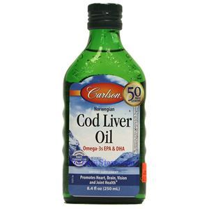 Picture of Carlson Norwegian Cod Liver Oil Unflavored 8.4 Fl Oz