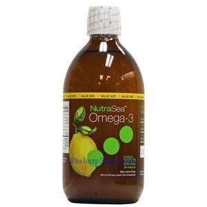 图片 Ascenta NutraSea牌Omega-3深海鱼油液体 柠檬味 1250毫克 500毫升