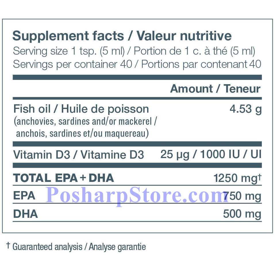 Picture for category Ascenta NutraSea-D  Omega-3 + Vitamin D Fish Oil Crisp Apple Flavor 1250mg 6.8 Fl Oz